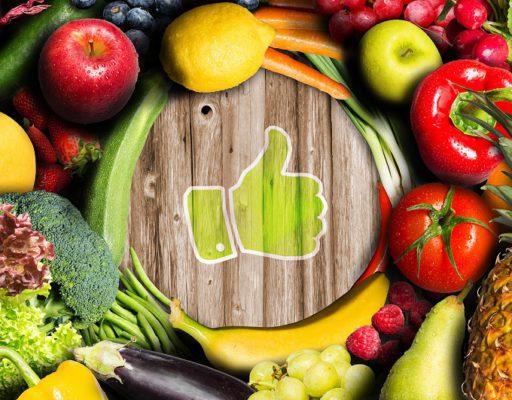 Warzywa i owoce jemy, bo zdrowi być chcemy!