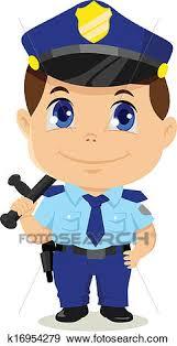 Cykl tematyczny o zawodach – wizyta policjanta