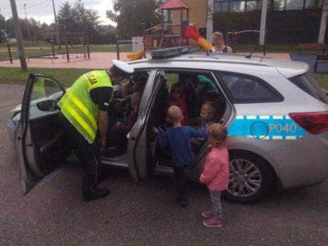 Wycieczka na Komisariat Policji w Gliwicach