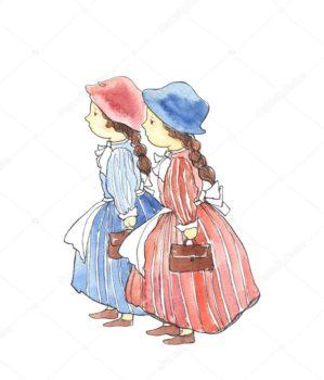 """""""Opowieść o dwóch siostrach"""" – teatrzyk w przedszkolu"""
