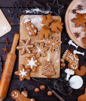 Pieczenie i ozdabianie pierników świątecznych